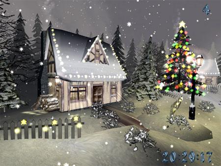 Christmas Time 3D Screensaver screenshot 1