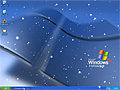 Animated Snowflakes on Desktop